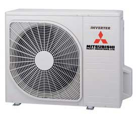 air conditioner compressor outdoor unit mitsubishi