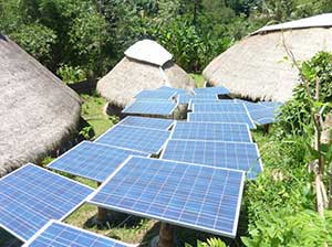 solar power for domestic use